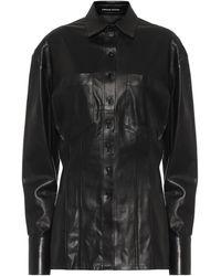 Kwaidan Editions Camisa de piel - Negro