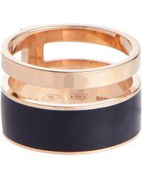 Repossi Berbere Chromatic Rose-gold Ring - Metallic