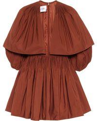 Valentino Minikleid mit Baumwollanteil - Mehrfarbig