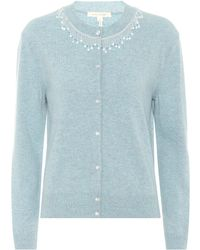 Marc Jacobs - Beaded Wool And Cashmere Cardigan - Lyst