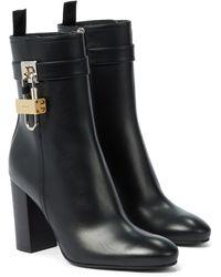 Givenchy Ankle Boots aus Leder - Schwarz