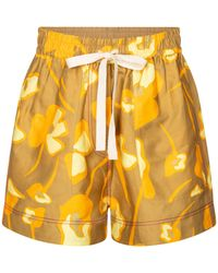 Lee Mathews - Shorts Wren en mezcla de lino - Lyst