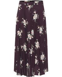 Velvet - Nalani Floral Skirt - Lyst