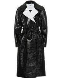 Dorothee Schumacher Trench-coat Infinite Gloss en coton mélangé enduit - Noir
