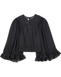 McQ - Embroidered Top - Lyst