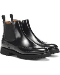 Church's Leather Chelsea Ankle Boots - Black