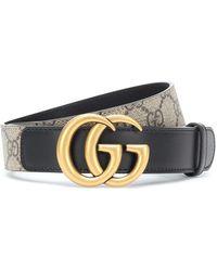 Gucci Ceinture GG avec boucle Double G - Neutre