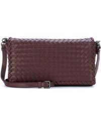 Bottega Veneta - Intrecciato Leather Shoulder Bag - Lyst