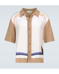 Lanvin Camisa en mezcla de algodón estampada - Multicolor