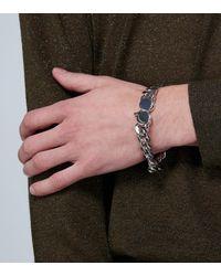 Tom Wood Chunky Sterling Silver Bracelet - Metallic
