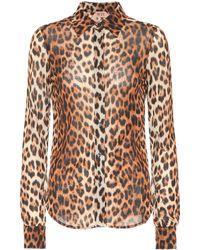 N°21 Leopard-printed Shirt - Multicolour