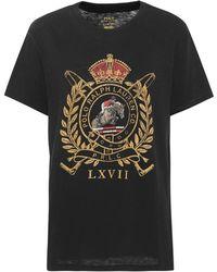 Polo Ralph Lauren - Crest Jersey Graphic T-shirt - Lyst