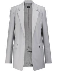 JOSEPH Joan Wool-blend Blazer - Gray