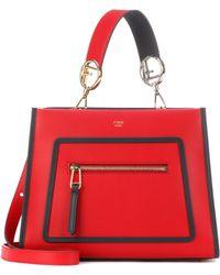 Fendi - Runaway Small Leather Shoulder Bag - Lyst 728c549756108