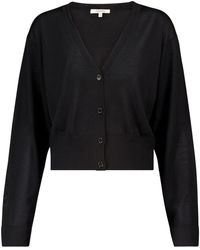 Dorothee Schumacher Exclusive To Mytheresa – Open Mind Wool And Silk Cardigan - Black