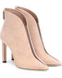 Jimmy Choo Ankle Boots Bowie 100 - Pink