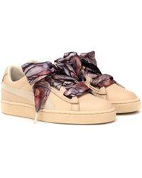PUMA - Basket Heart Mimicry Sneakers - Lyst