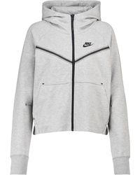 Nike Sweat-shirt à capuche Tech-Fleece Windrunner - Gris