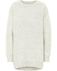 Étoile Isabel Marant Danaelle Wool-blend Jumper Dress - Grey
