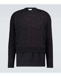 Givenchy Oversize-Pullover - Schwarz