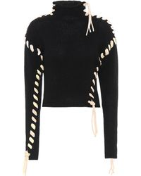 Acne Studios Wool Turtleneck Jumper - Black
