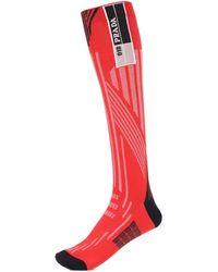 Prada Logo Socks - Red