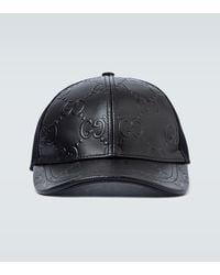 Gucci Cappellino da baseball con motivo GG - Nero