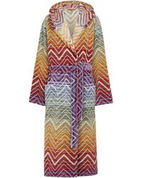 Missoni Bata Tolomeo de algodón con capucha - Multicolor