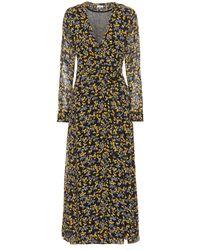 Ganni - Marceau Floral-printed Dress - Lyst