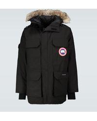 Canada Goose Expedition Parka Jacket - Black