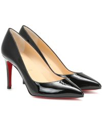 Christian Louboutin Pumps Pigalle Follies in pelle - Nero