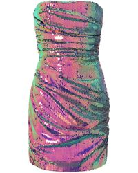 Alex Perry Exclusive To Mytheresa – Granger Sequined Minidress - Purple