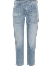 Citizens of Humanity High-Rise Jeans Leah - Blau
