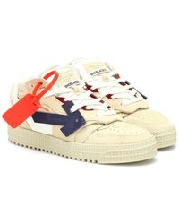 Off-White c/o Virgil Abloh Sneakers OFF-COURT in suede - Blu