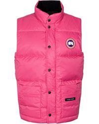 Canada Goose Daunenweste Freestyle - Pink