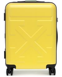 Off-White c/o Virgil Abloh Quote Carry-on Suitcase - Yellow