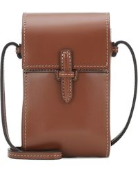 Hunting Season The Crossbody Pouch Leather Bag - Brown