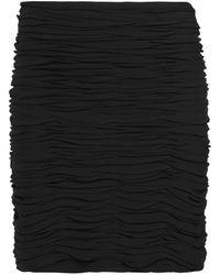 Khaite Moira Jersey Miniskirt - Black