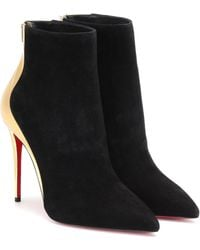 Christian Louboutin Ankle Boots Delicotte 100 - Schwarz