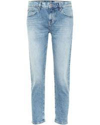 AG Jeans Jeans ajustados Ex-Boyfriend - Azul