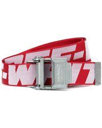 Off-White c/o Virgil Abloh Cintura Industrial 2.0 in tessuto tecnico - Rosso