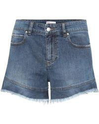 RED Valentino Shorts di jeans a vita alta - Blu