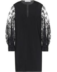 Givenchy Lace-trimmed Minidress - Black