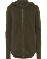 ATM - Cotton French Terry Hoodie - Lyst
