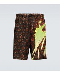 Dries Van Noten Patterned Shorts - Multicolour