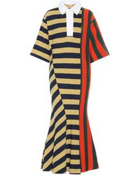 Loewe Stripe Rugby-shirt Dress - Multicolour