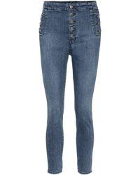 J Brand - Jeans Natasha skinny de tiro alto - Lyst
