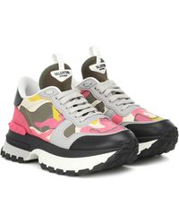 Valentino Sneakers Rockrunner.up - Pink