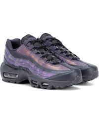 Nike - Air Max 95 Leather Sneakers - Lyst