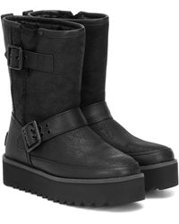 UGG Ankle Boots Classic Rebel - Schwarz